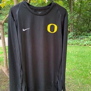 NWT Mens Nike Dri Fit Oregon Long Sleeve Tee LG